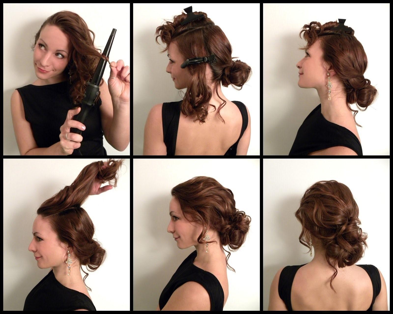 Прически для средней длины волос своими руками 27