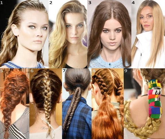 Модные прически 2017 женские на длинные волосы в школу