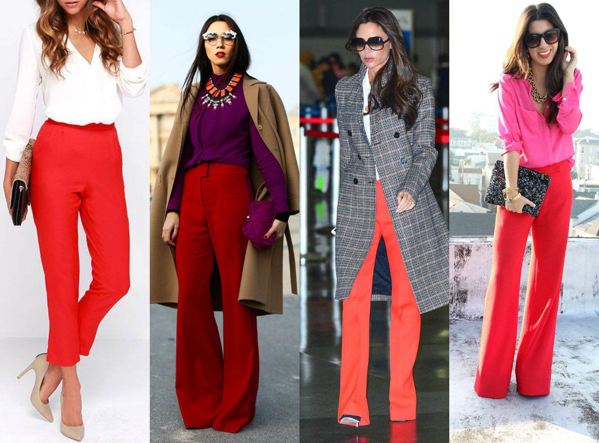 З чим носити бордові штани  - Жіночий журнал про моду 4ff94c68df874
