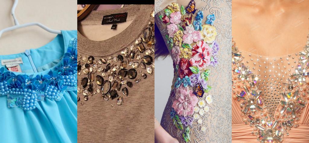 Аппликация на сетке для платья своими руками 15