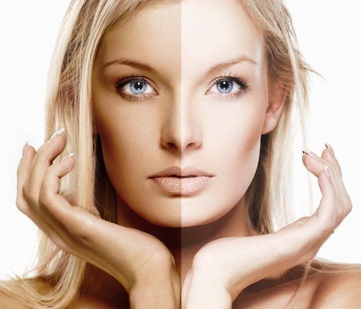 Как сделать кожу белого цвета