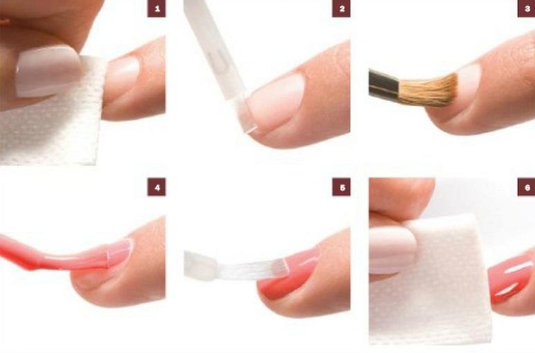 Как правильно наносить гель лак на ногти в домашних условиях пошагово 92