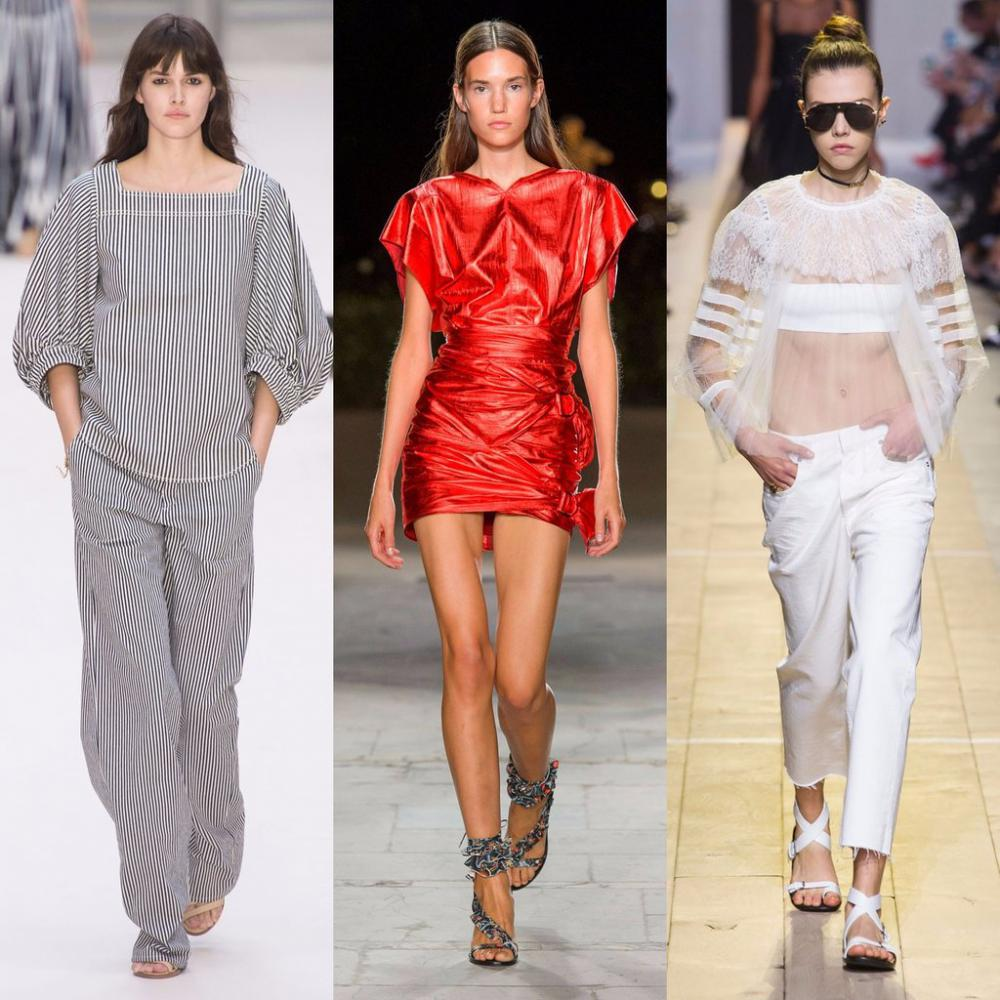 Popular fashion trends for spring 2018